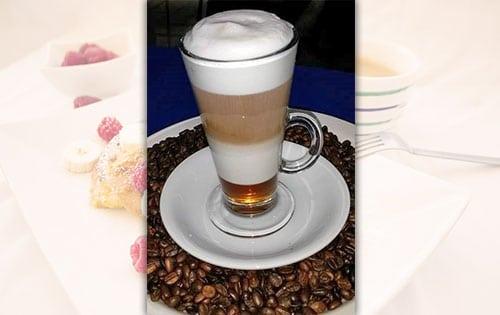 Café Latté con Sabor